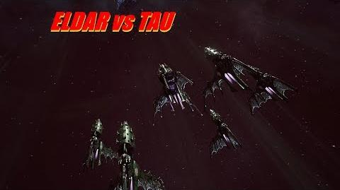 Eldar vs TAU! Rank 72, Heroic Difficulty, 1500 Points - Battlefleet Gothic Armada