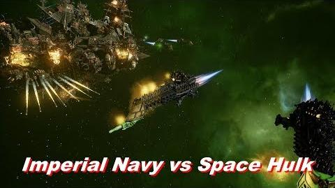 Imperial Navy vs Space Hulk! Rank 160, Heroic Difficulty, 1500 Points - Battlefleet Gothic Armada