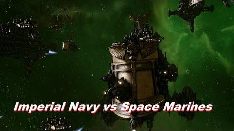 Imperial Navy vs Space Marines! Rank 161, Heroic Difficulty, 1500 Points - Battlefleet Gothic Armada
