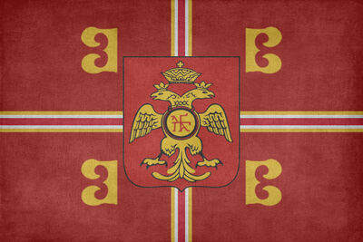 Flag of the byzantine empire by lyniv-d77tb45