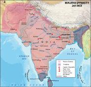 Mauryan-empire-map