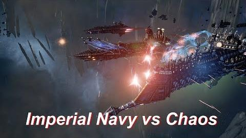 Imperial Navy vs Chaos! Rank 156, Heroic Difficulty, 1500 Points - Battlefleet Gothic Armada
