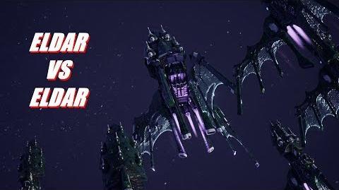Eldar vs Eldar! Rank 75, Heroic Difficulty, 1500 Points - Battlefleet Gothic Armada