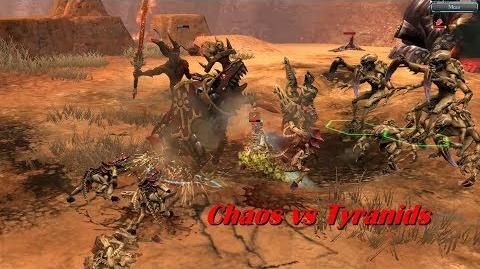 Chaos vs Tyranids - Warhammer 40k Dawn Of War 2 Retribution - SupaEpicFun Mod