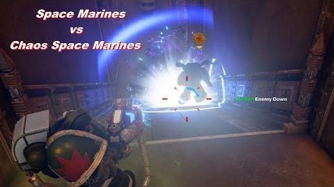 Grav-gun, Plasmagun, Plasma Cannon! (Space Marines vs Chaos) - Warhammer 40k Eternal Crusade