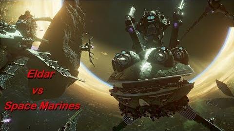 Eldar vs Space Marines! Rank 73, Heroic Difficulty, 1500 Points - Battlefleet Gothic Armada