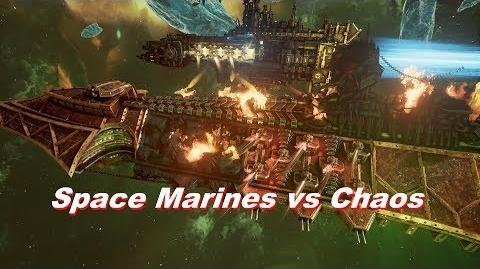 Space Marines vs Chaos! Rank 124, Heroic Difficulty, 1500 Points - Battlefleet Gothic Armada
