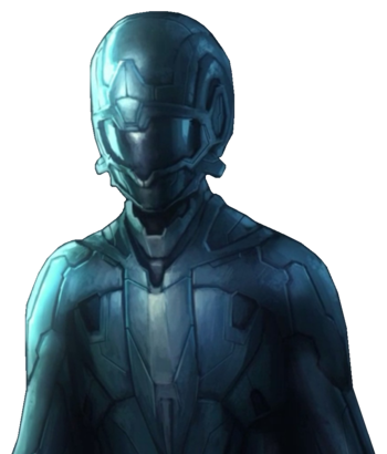 Halo Forerunner Average Combat Skin Model