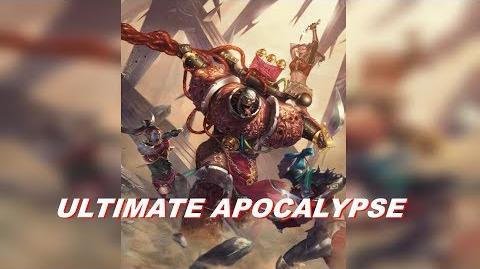 Chaos Space Marines vs Eldar vs Dark Eldar vs Imperial Guard! - Soulstorm - Ultimate Apocalypse Mod