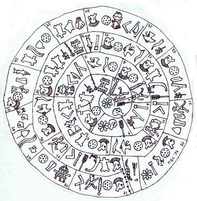 The Phaistos Disc.Side A