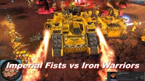 Space Marines vs Chaos Space Marines - Warhammer 40k Dawn Of War 2 Retribution - SupaEpicFun Mod