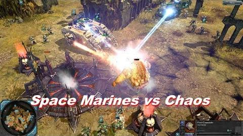 Space Marines vs Chaos Space Marines - Warhammer 40k Dawn Of War 2 Retribution - SupaEpicFun Mod-1