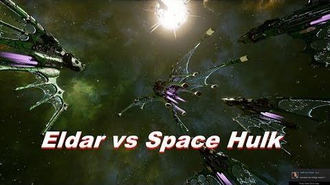 Eldar vs Space Hulk! Rank 80, Heroic Difficulty, 1500 Points - Battlefleet Gothic Armada