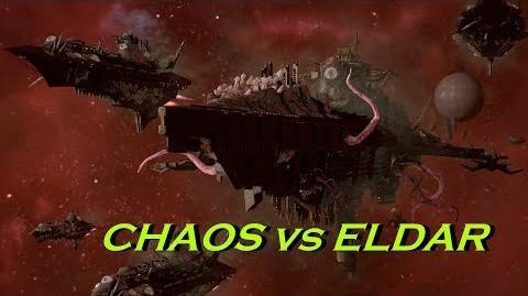Chaos vs Eldar! Rank 108, Heroic Difficulty, 1500 Points - Battlefleet Gothic Armada