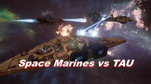 Space Marines vs TAU! Rank 125, Heroic Difficulty, 1500 Points - Battlefleet Gothic Armada