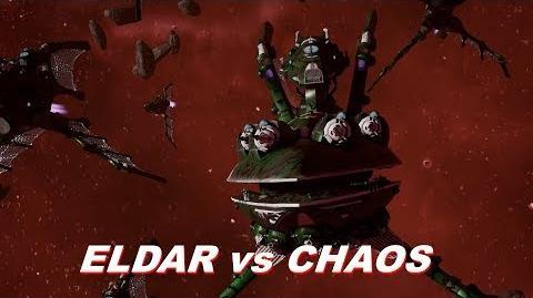 Eldar vs Chaos! Rank 78, Heroic Difficulty, 1500 Points - Battlefleet Gothic Armada