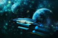 Space travel by ignisfatuusii-d7crunf