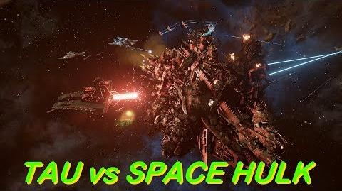 TAU vs SPACE HULK! Rank 30, Heroic Difficulty, 1500 Points - Battlefleet Gothic Armada