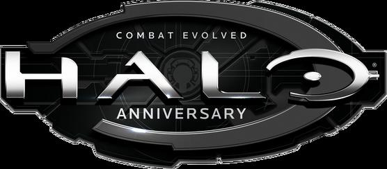 Halo Combat Evolved Anniversary Logo (Render)