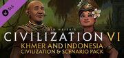 Khmer and Indonesia Civilization & Scenario Pack (Civ6)
