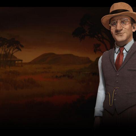 Promotional image of John Curtin