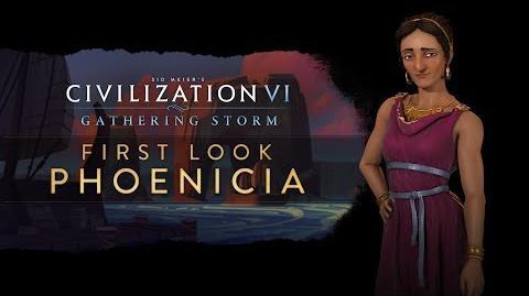 Civilization VI Gathering Storm - First Look Phoenicia (INTL)