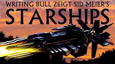 Writing Bull/Sid Meier's Starships: Release-Livestream und erstes Let's Play