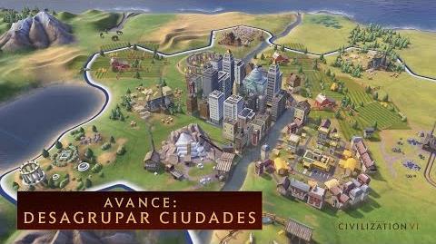 CIVILIZATION VI - Avance desagrupar ciudades