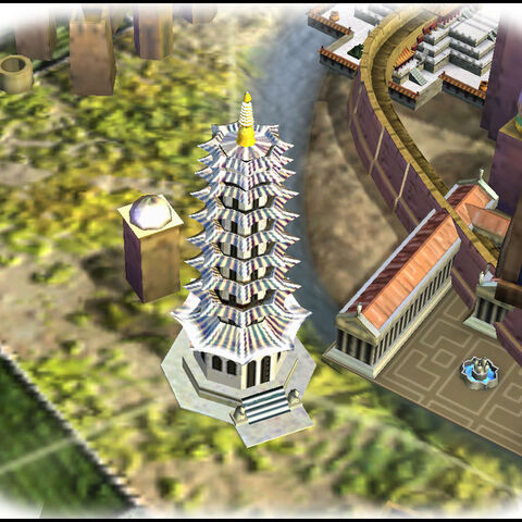 Porcelain Tower in game