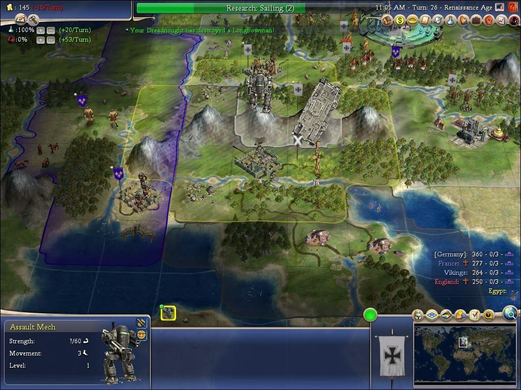 Assault Mech (Civ4) | Civilization Wiki | FANDOM powered by Wikia
