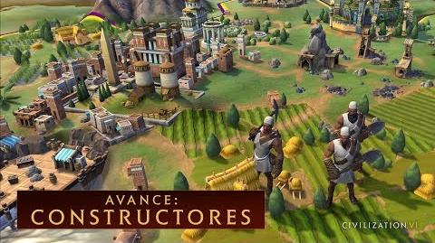 CIVILIZATION VI - Avance Constructores