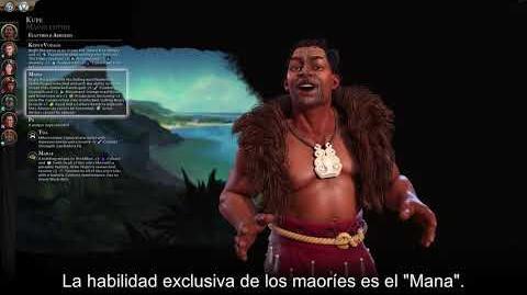 Civilization VI Gathering Storm - Maorí