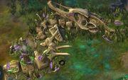 Monstrous Alien Remains Marvel (Rising Tide)