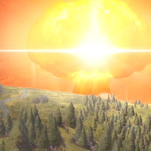 Nuclear weapon detonation seen in the Domination Victory movie