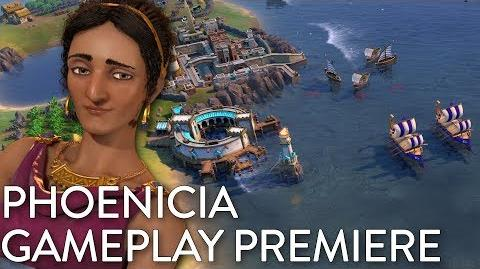 Civilization VI- Gathering Storm - Phoenicia Gameplay Premiere (Dev Livestream)