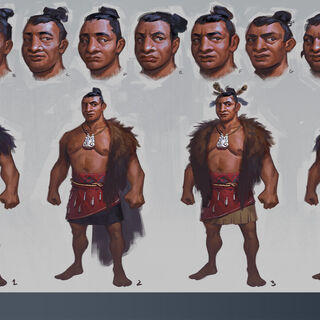 Concept art of Kupe