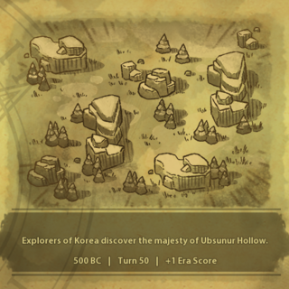 A civilization discovers Ubsunur Hollow