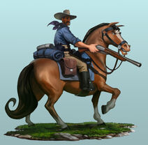 CivilizationVI Concept America Rough Rider