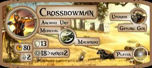 Crossbowman Info Card (Civ5)