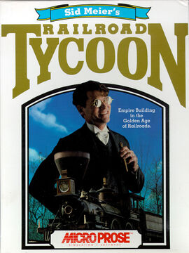 Railroad Tycoon Box Art