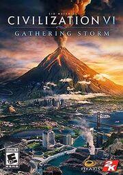 Civilization VI Gathering Storm Cover