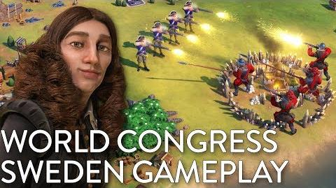Civilization VI- Gathering Storm - Sweden Gameplay + World Congress (Dev Livestream)