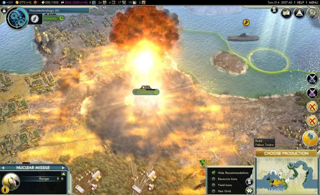 Civ  Can T Build Nukes