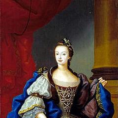 Maria Francisca Isabel, Princess of Brazil, by Vieira Lusitano (1753)