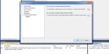 ModBuddy build error solution (CivBE)