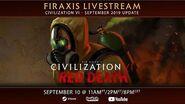Civilization VI - Red Death Premiere