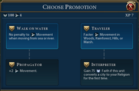 Missionary promotions (Civ6)
