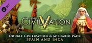 Double Civilization and Scenario Pack Spain and Inca DLC (Civ5)