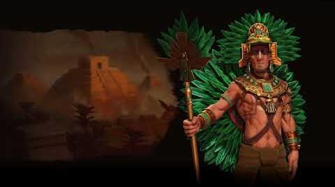 Civilization VI OST - Aztec (Montezuma) - Industrial Theme - Nahua Music