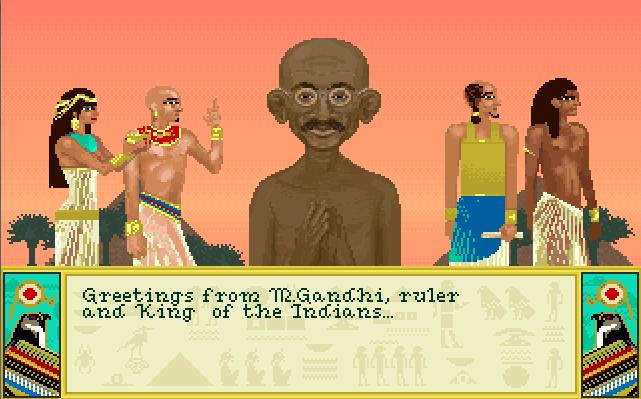 Mohandas Gandhi (Civ1)   Civilization Wiki   FANDOM powered